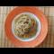 Фото Спагетти с луковым соусом