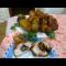 Фото Куриная голень, фаршированная грибами