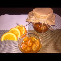 Рецепт: Ароматное варенье из апельсиновых корочек