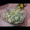 Фото Салат из зеленого лука с яйцами и огурцом