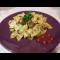 Фото Макароны с куриным фаршем и томатной пастой