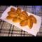 Фото Быстрые и постные пирожки с капустой в духовке