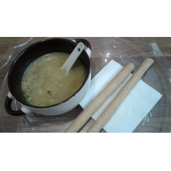 Рецепт: Постный суп из маша