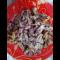 Фото Салат из консервированной фасоли