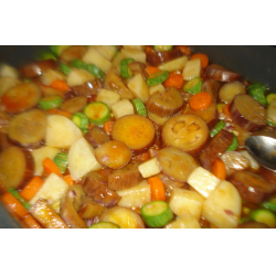 Рецепт: Овощи тушеные в томатном соусе