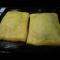Фото Пирог из слоенного теста с сайрой (консервы)