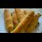 """Фото Трубочки """"СИГАРА"""" с сырно-шпинатной начинкой"""