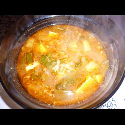 Рецепт: Корейский суп Пуктяй