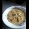 Фото Грибной крем-суп с шампиньонами и сухариками