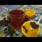 Фото Ароматный овсяной квас с медом и травами