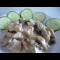 Фото Тушеная свинина в сметанно-черносливовом соусе