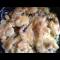 Фото Картофель под сырной-грибной корочкой