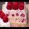 Фото Малиновый торт-мороженое