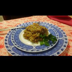 Рецепт: Каша гречневая с овощами и сельдереем