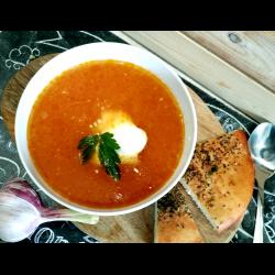 Рецепт: Суп из томатов