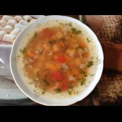 Рецепт: Суп картофельно-помидорный