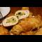 Фото Куриные рулетики фаршированные сыром и копченным салом