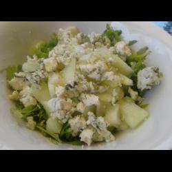 Рецепт: Летний салат с Дор-блю