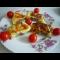 Фото Картофельный рулет с сырно-колбасной начинкой