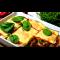 Фото Запеченные тосты с ветчиной и пикантным томатным соусом