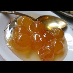 Рецепт: Варенье из желтой алычи с косточкой