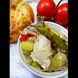 Рецепт: Дамлама из курицы