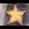 Фото Звезда из картофельного пюре и сосисок
