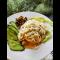 Фото Спагетти с чесночным маслом и зеленью
