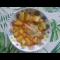 Фото Тушеное мясо с картофелем и томатами