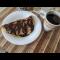 Фото Овсяноблин с фруктовой начинкой и сгущенным молоком