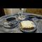 Фото Простой шоколадный пирог. с ореховым безе