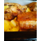 Фото Ребрышки свиные маринованные на картофельной подушке
