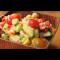 Фото Салат с тунцом, нутом и овощами