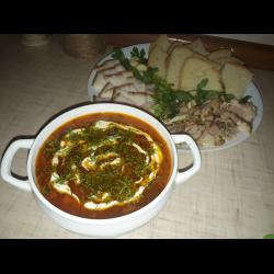 Рецепт: Борщ Украинский с телятины