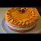 Фото Персиковый муссовый торт