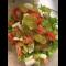 Фото Пп салат с семгой и виноградом