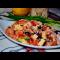 Фото Салат с курицей, кунжутом и овощами