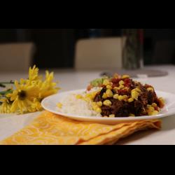 Рецепт: Чили Кон Карне c Гуакомоле