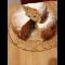Фото Шарлотка с яблокими и шифоновфм бисквитом в мультиварке