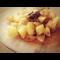 Фото Пряный тушеный картофель с курицей в мультиварке