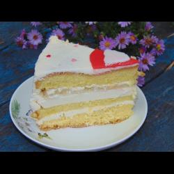 """Рецепт: Торт """"Пина Колада"""""""