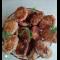 Фото Котлеты из свиного фарша с овощами в духовке