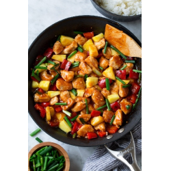 Рецепт: Кисло-сладкая курица по китайски
