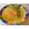 Фото Суп с замороженной горбушей и овощами