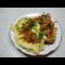 Фото Тушеная свинина с овощами на сковороде