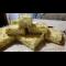 Фото Насыпной пирог с творогом и грушей