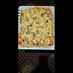 Рецепт: Пица самая быстрая