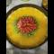 Фото Творожный пирог с фруктами и желе без выпечки