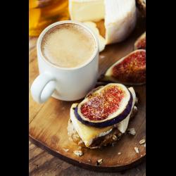 Рецепт: Сырный кофе