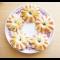 """Фото """"Хризантемы"""" из вареной колбасы и слоеного теста"""